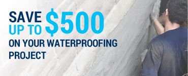 Save up to $500 on Your Waterproofing Project With Royal Work Corp. Waterproofing