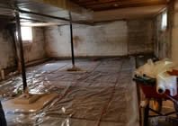 basement floor preparation