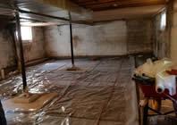 basement floor preparation