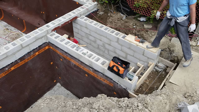 building basement walkout for Toronto home