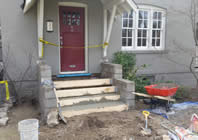 building new stairs