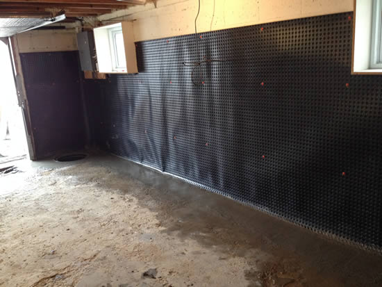 basement waterproofing toronto we fix damp basements royal work rh royalwork ca how to seal basement walls from moisture how to seal basement walls from the outside