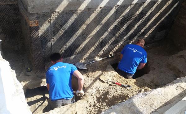 basement underpinning process